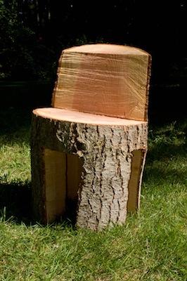 Chainsaw Chair