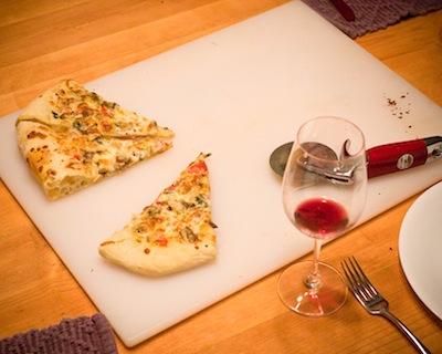 Chicken Lime Cilantro Pizza