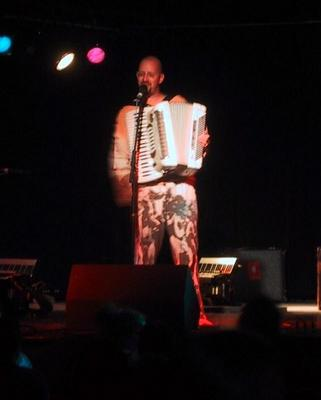 Daniel Ari on the Accordion