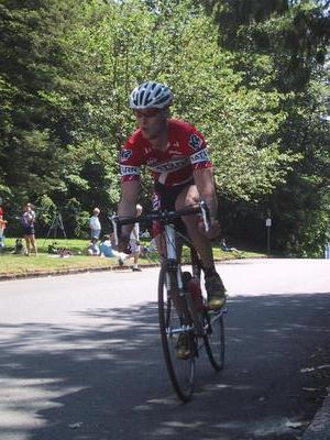 The leader early on at seward park