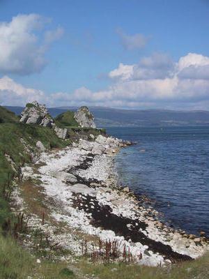 On the Antrim coast