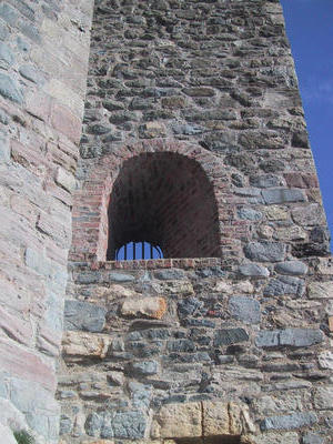 A window in Carickfergus Castle