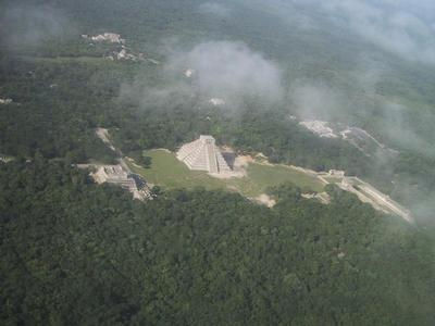 Chichen Itza - From the airplane