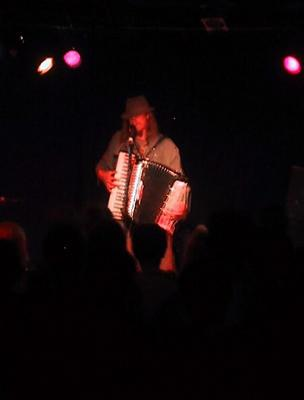 Jason on the accordion, monsters of accordion tour