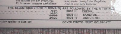 Public Domain Recording
