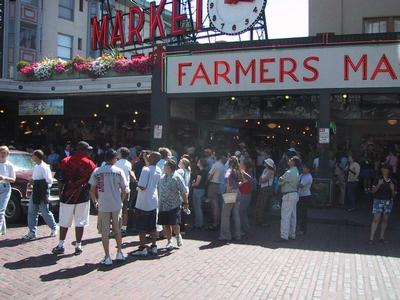 Something's in the air at Pike Place Market
