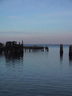 Wharf at port townsend
