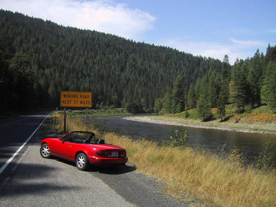 Where to take a miata on a date.